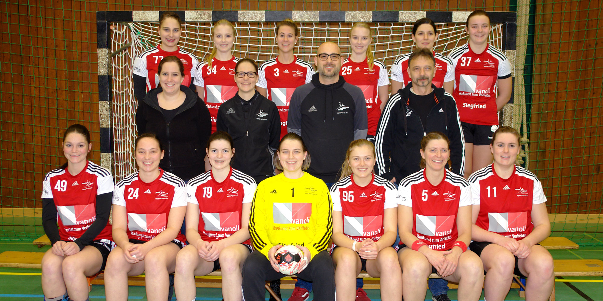 1. Liga Team - TV Zofingen Handball Frauen
