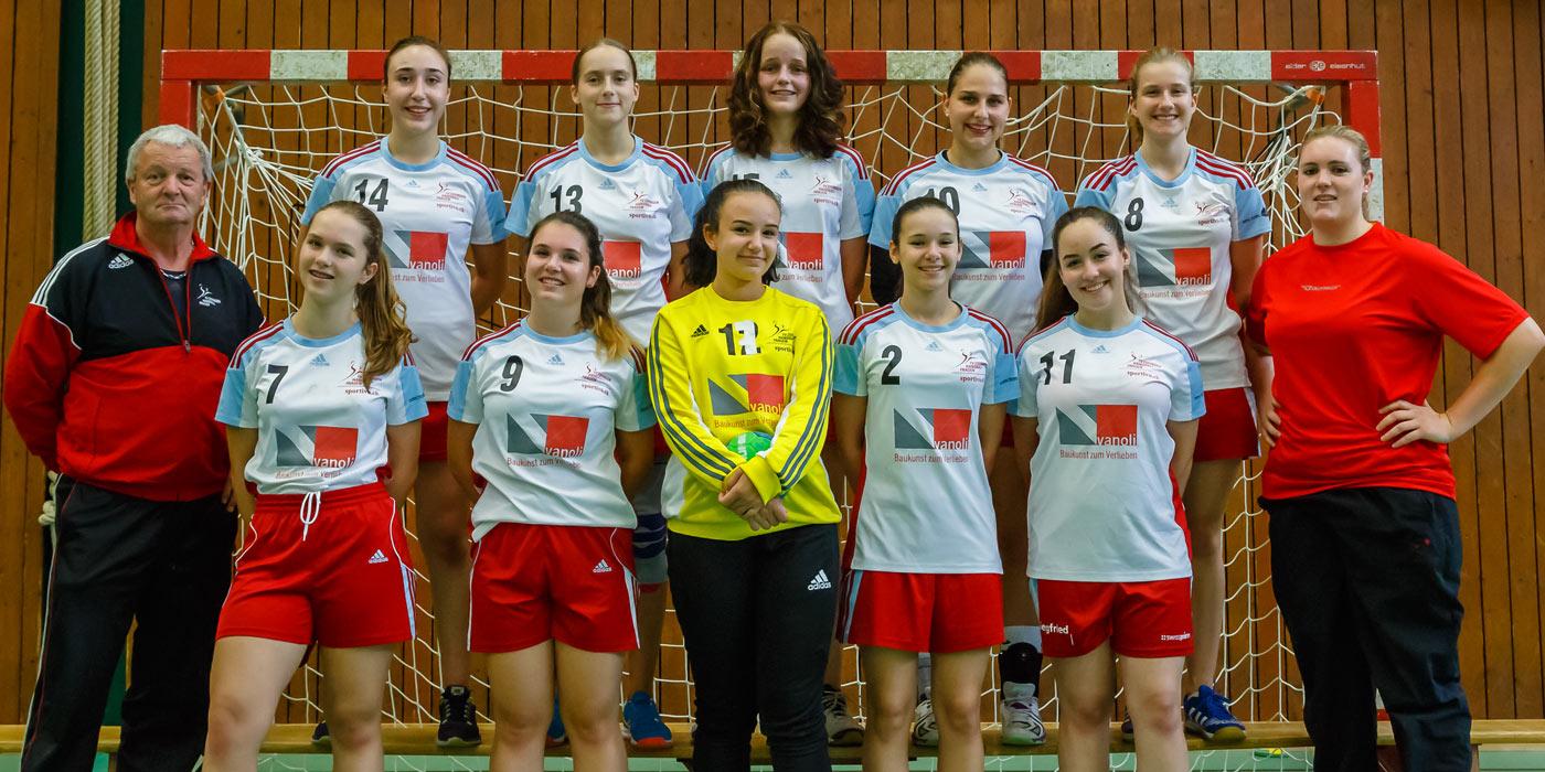 FU18 Juniorinnen Team - TV Zofingen Handball Frauen