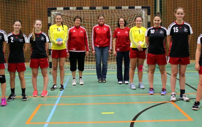 FU16 Juniorinnen Saison 2016/17
