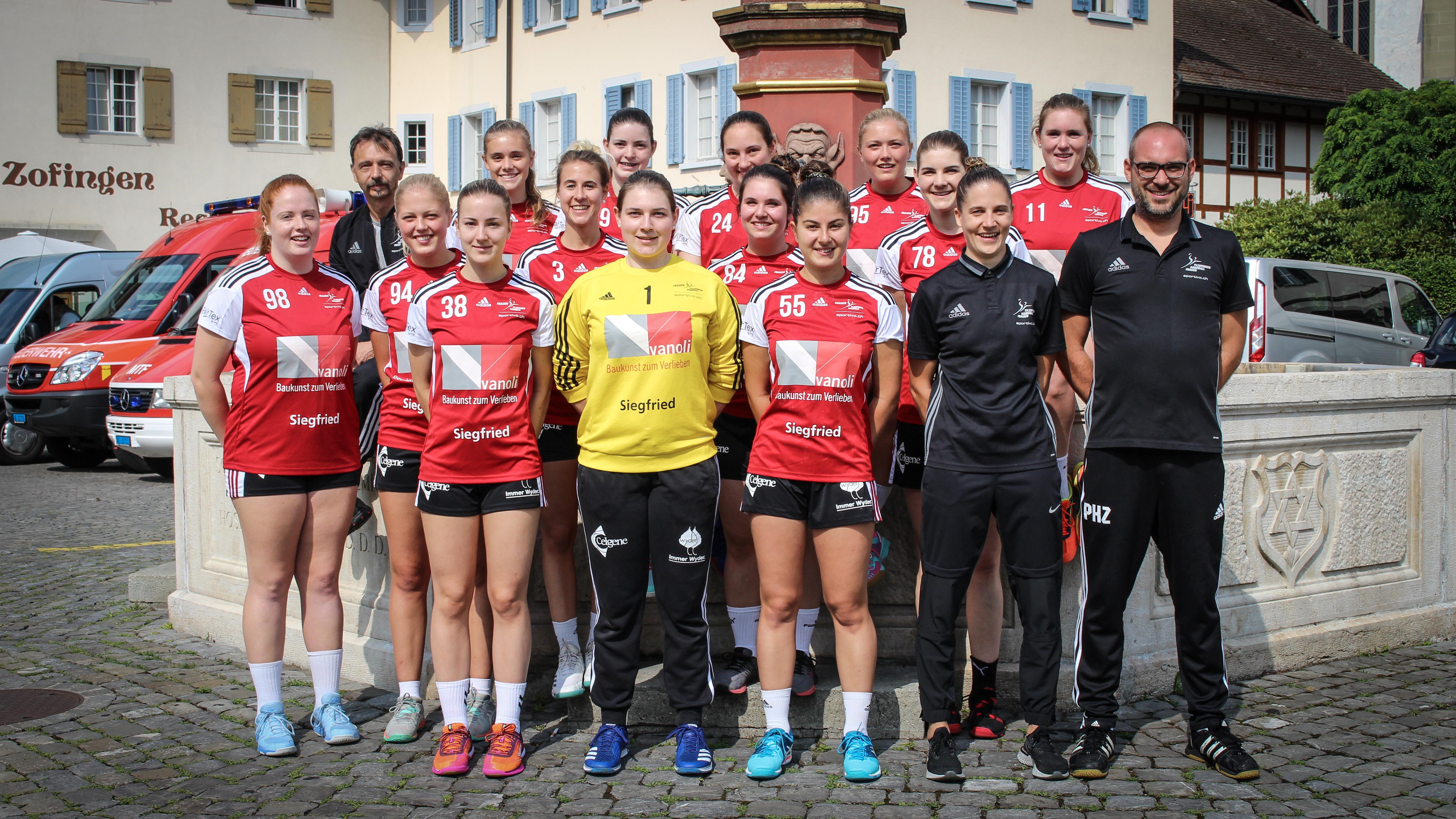 1. Liga Team - TV Zofingen Handball Frauen