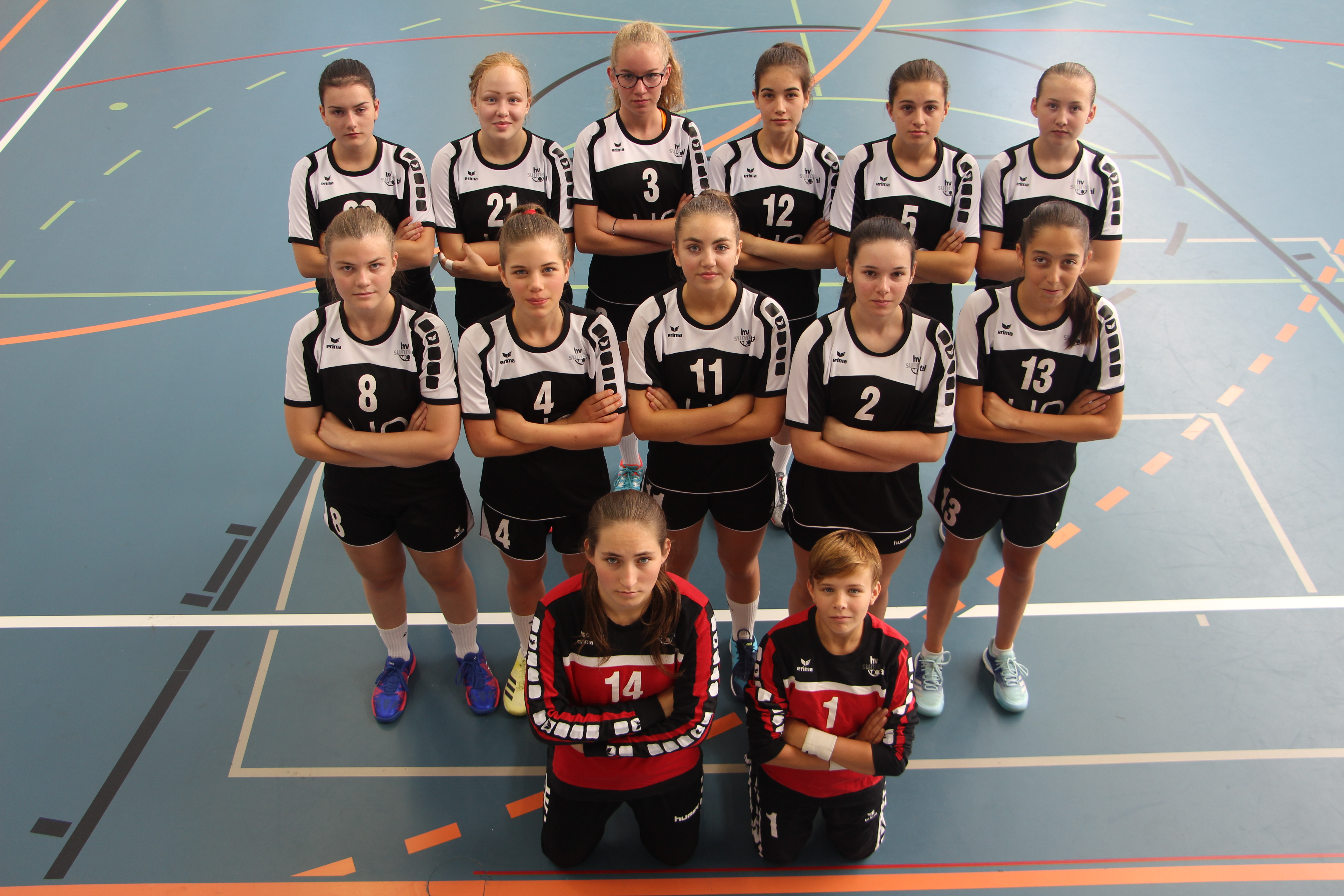 TV Zofingen FU18 Juniorinnen Saison 2017/18